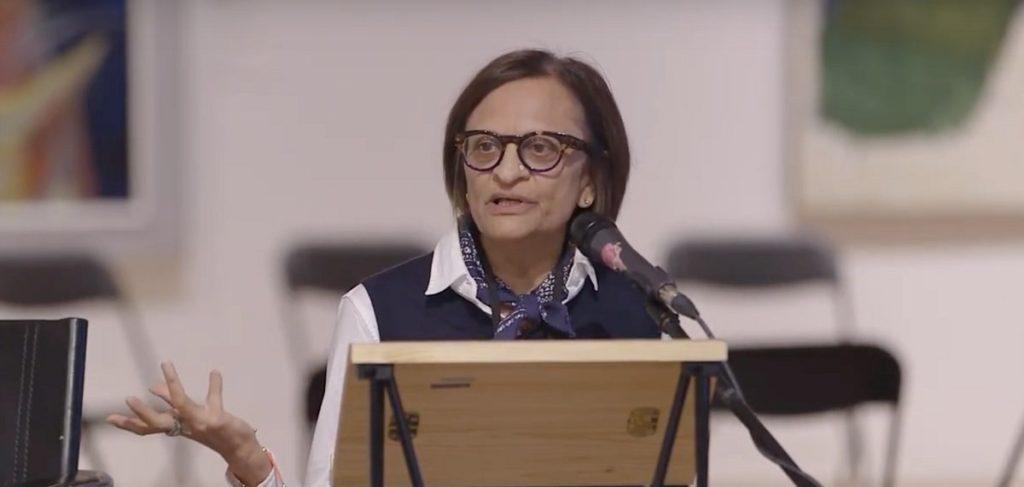 Zainub Verjee at the Ideas Digital Forum, 2018